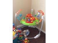 Babies bouncer jumperoo for sale