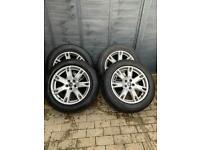 Range Rover Evoque Alloys with Pirelli Tyres