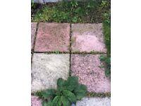 Garden paving slabs, 6 sq m