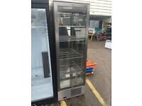 IMC Stainless Steel, Glass Door Shop Display Drinks Fridge