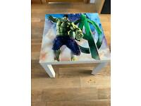 Children's hulk table and chair for sale