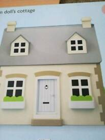 John lewis wooden dolls cottage