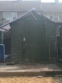 Graden shed 8x6 Free to go