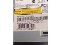 Genuine Liteon iHas 124B 124-B DVD Dual Layer Writer Xbox XGD3 rare drive burnermax