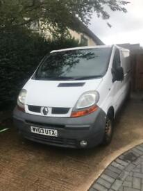 Renault traffic van no vat