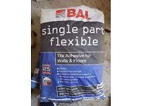 BAL Single Part Flexible Tile Adhesive - Unopened