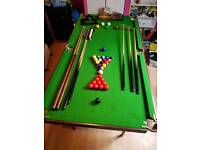 Snooker/pool/table tennis table