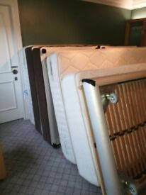 3 beds with mattress