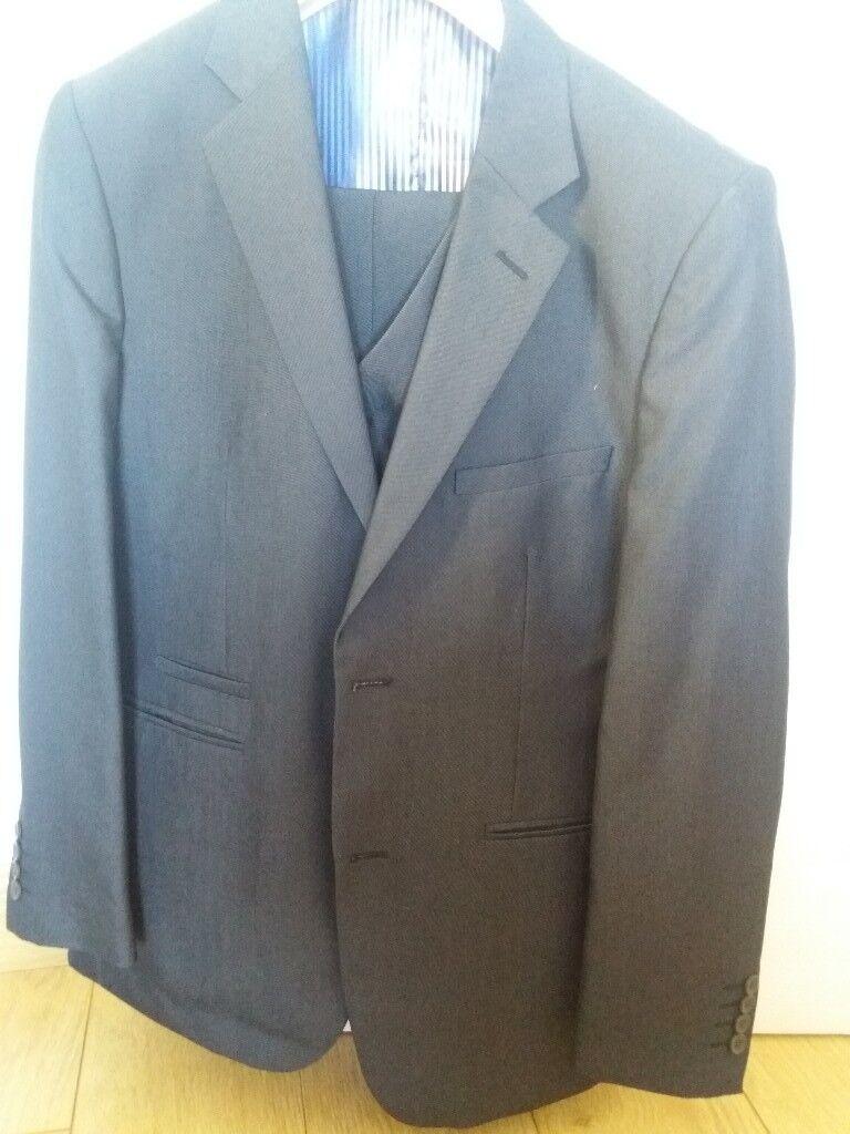 Navy 3 piece suit | in Dunmurry, Belfast | Gumtree