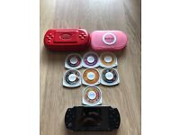 Sony PSP 2000 / 2003 / Slim & 7 Games - Immaculate Condition! Bargain!