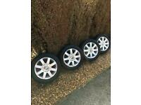 VW Golf MK5/TOURAN Alloy wheels x4 **IMMACULATE**
