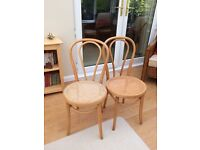 2 Bentwood Chairs,