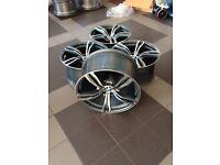 NEW 20 inch BMW M5 F10 F12 F13 F06 M6 double-spoke alloy wheels M343