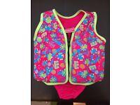 Speedo pink swim float vest