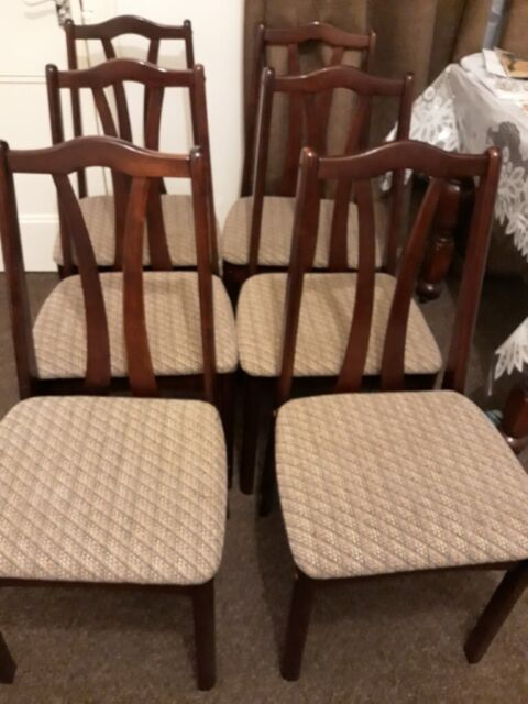 Pleasing 6 Dining Or Living Room Chairs For Sale In Dundee Gumtree Download Free Architecture Designs Intelgarnamadebymaigaardcom