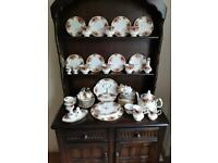 50 piece Royal Albert Old Country Roses