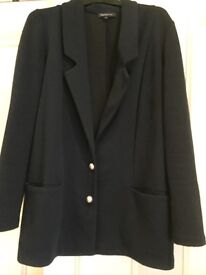 M&S Limited Edition Ladies blue jacket size 12