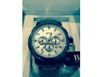 Hugo Boss Chronograph Silver Watch 1512110 - Brand New, Unworn