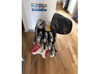 Full set ofNike golf clubs used but loved and looked after