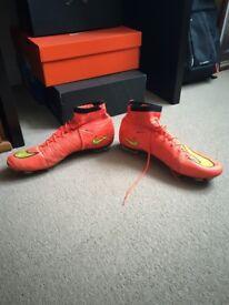 NIKE MERCURIAL FOOTBALL SOCK BOOT UK SIZE: 10