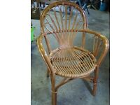 Stylish Cane Chair in Excellent Condition
