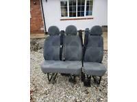 Van Seats with built in seatbelts camper / crew conversion