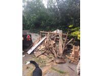 FREE FIREWOOD - 2 x garden sheds