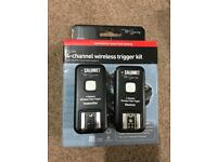 Calumet 4-channel wireless trigger kit and receiver