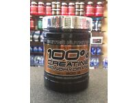 Scitec 100% Creatine Monohydrate 300g Sale   Daddy Supplements