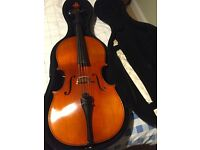 3/4 sized Cello by Geoff Denyer, Winchester for Sale