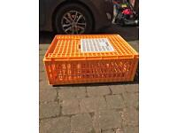 Large Poultry Transport Crate