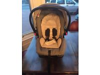 Graco snugfix car seat and isofix base