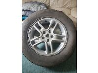 235/65r17 wheel and tyre