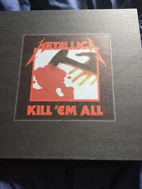 Kill em all Deluxe boxset Metallica