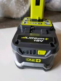 Ryobi 18v one plus 4 hour battery
