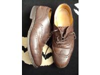vintage church's oxford brogues 10s