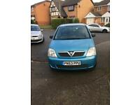 GREAT GREAT BARGAIN VAUXHALL MERIVA 1.6 PETROL/MILEAGE 64K/WITH 10 MONTHS MOT/5 DOORS