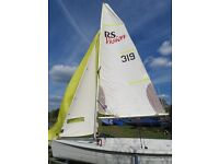 RS Vision XL with Combi Trailer NEW MYLAR MAIN and Extras