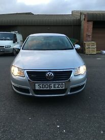 Volkswagen VW Passat b6 1.9 tdi 2006 leather seats Silver LOW MILAGE !