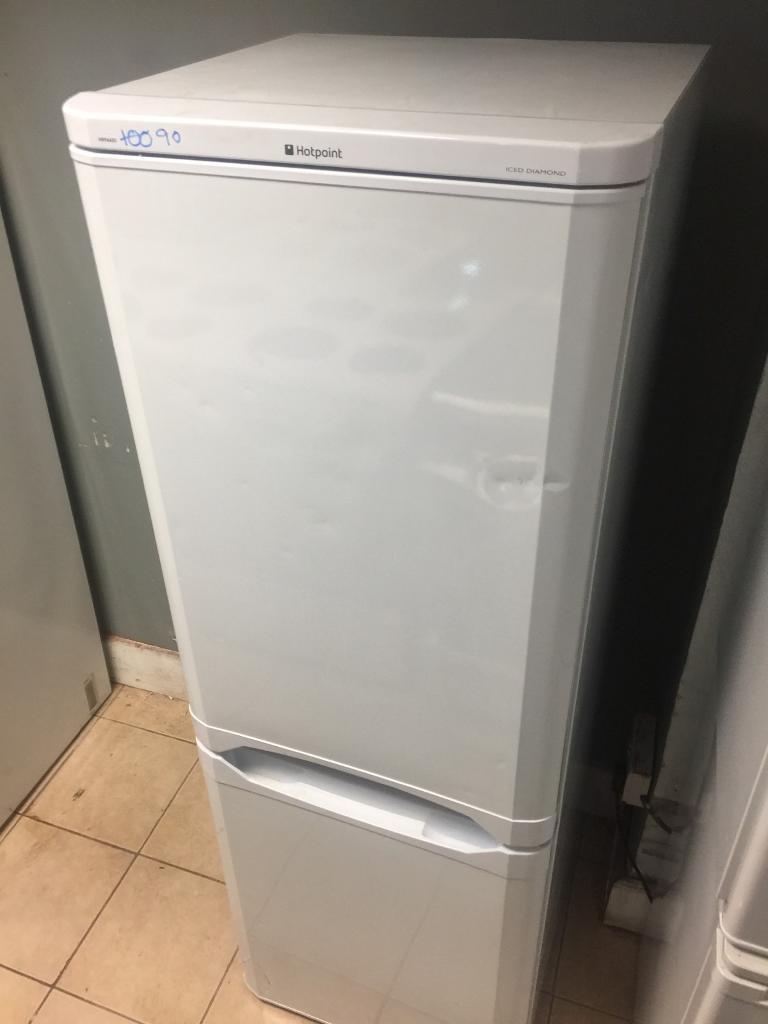 10.hotpoint fridge freezer