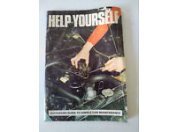 Help Yourself - Duckhams Guide to Simple Car Maintenance Pamphlet – 1973