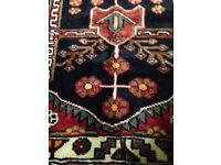 Hamadan Rug, 100% Wool, New with Tags