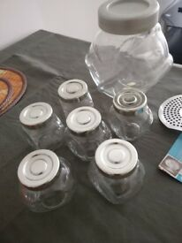Jars and storage