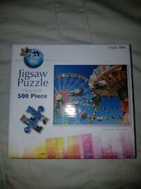 Puzzle World Funfair Jigsaw Puzzle
