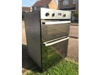 Hot point double electric Oven .