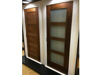 Super sale on shaker walnut doors