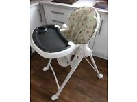 Graco high chair contempo ted and coco
