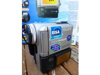 Sony Digital Handycam DCR-PC5E with case Batteries, etc.