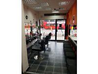 Gents Barber Shop Section for rent