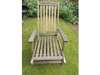 Hardwood garden chair